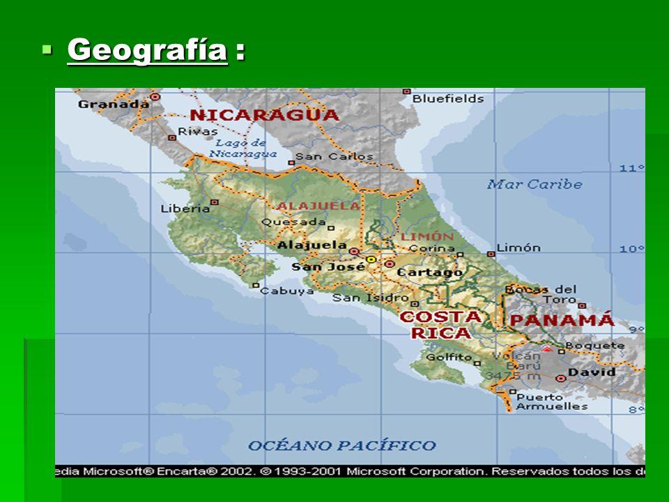 Geografía :