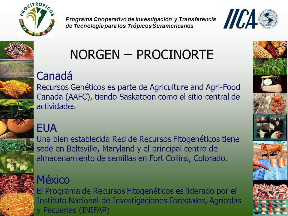 NORGEN – PROCINORTE Canadá EUA México
