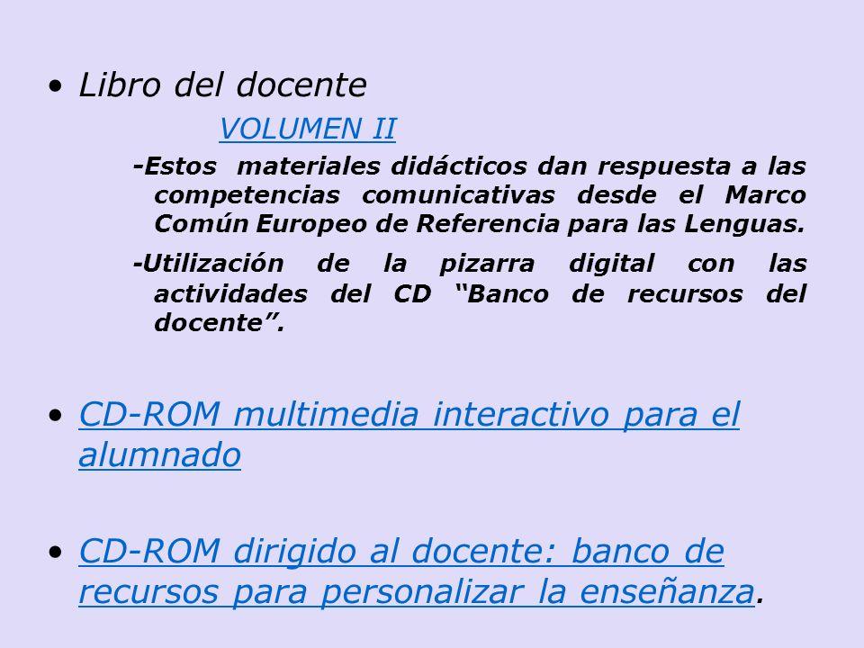 CD-ROM multimedia interactivo para el alumnado
