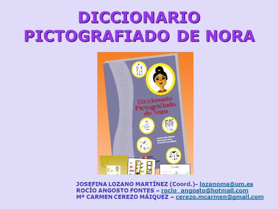 DICCIONARIO PICTOGRAFIADO DE NORA