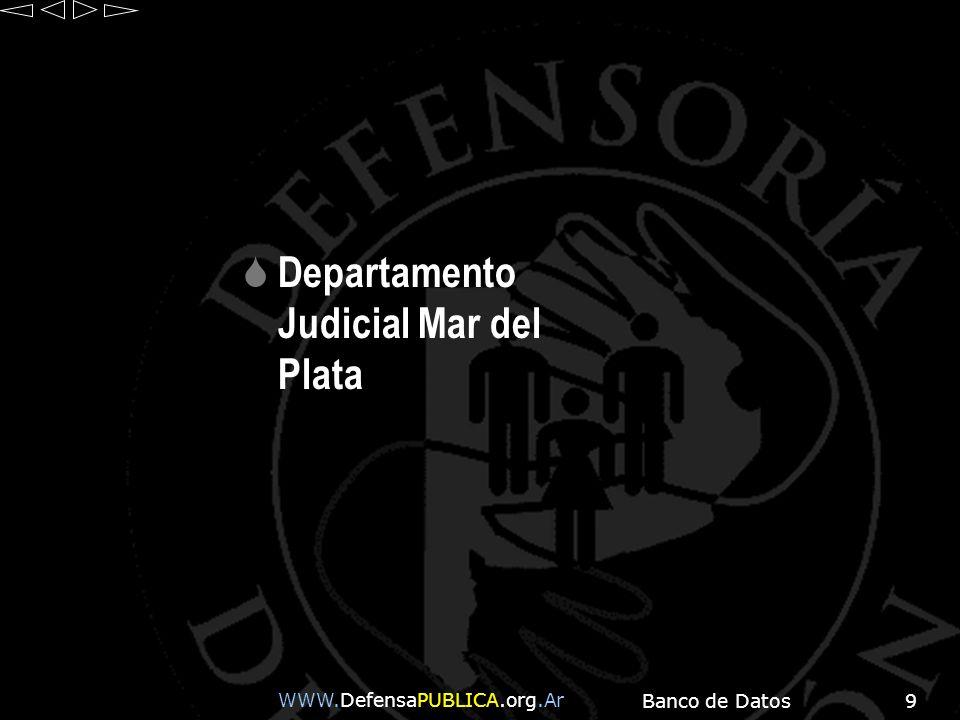 Departamento Judicial Mar del Plata