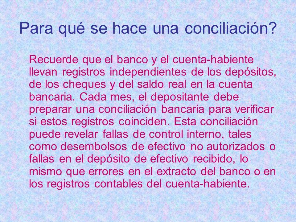 Para qué se hace una conciliación