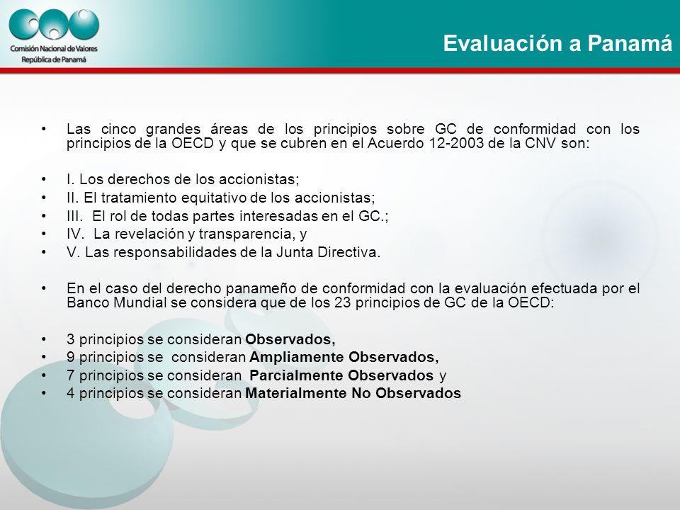 Evaluación a Panamá