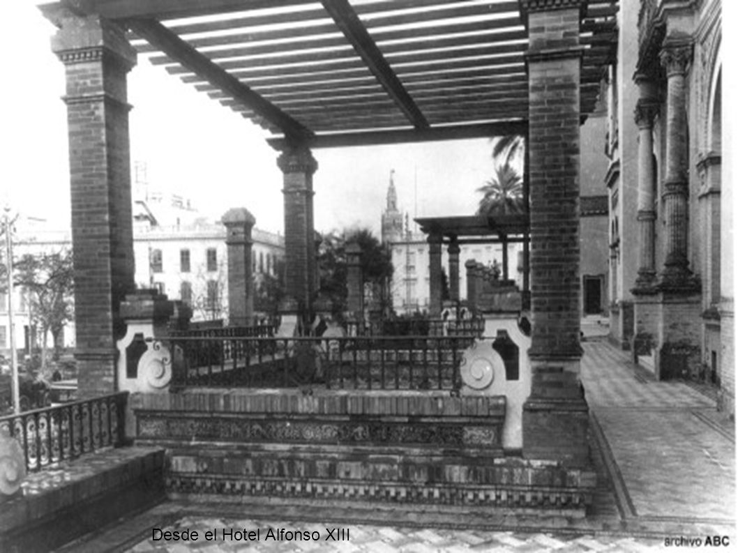 Desde el Hotel Alfonso XIII