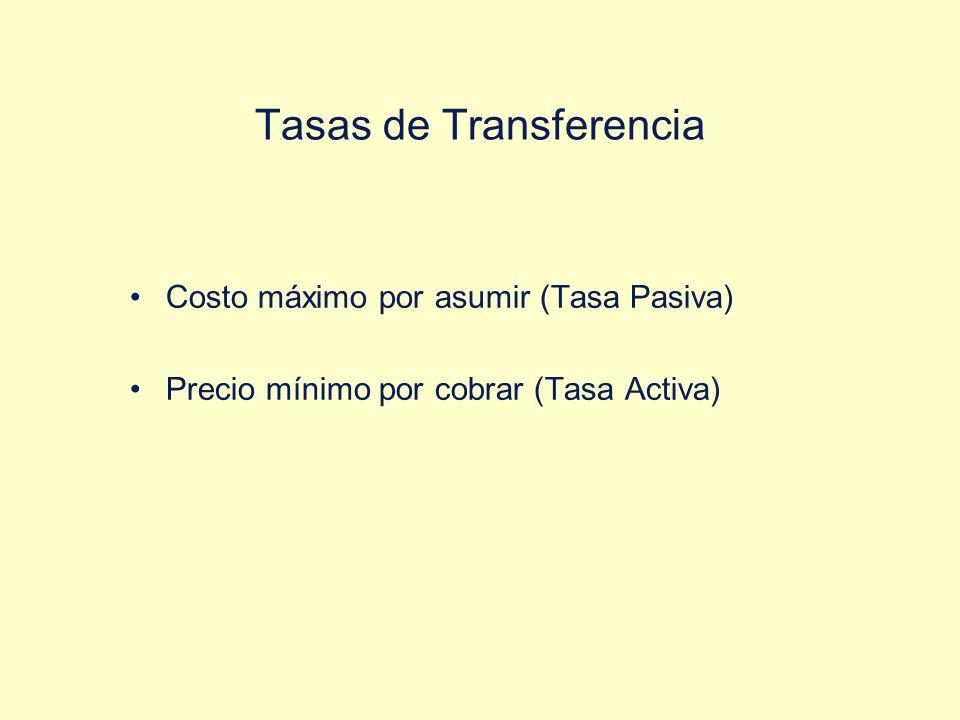 Tasas de Transferencia