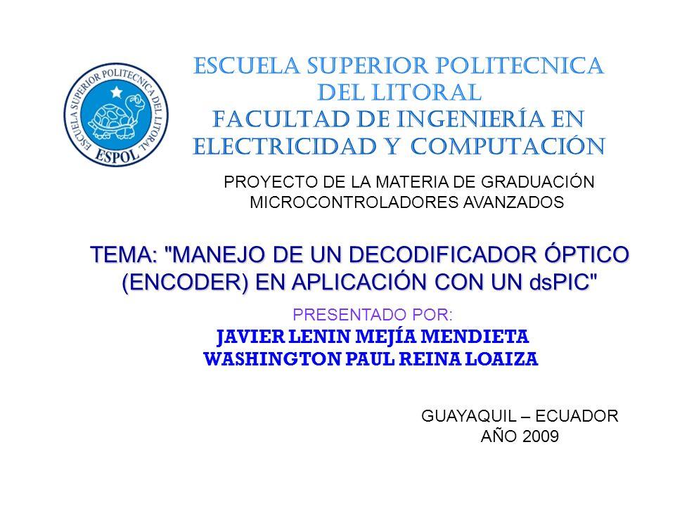 FACULTAD DE INGENIERÍA EN ELECTRICIDAD Y COMPUTACIÓN