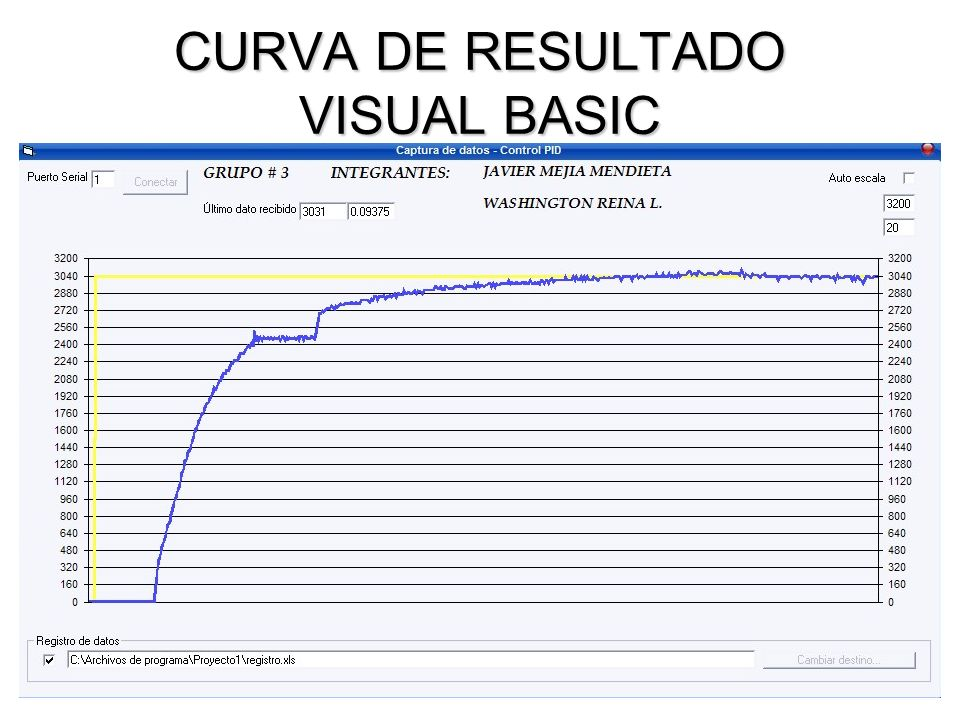 CURVA DE RESULTADO VISUAL BASIC