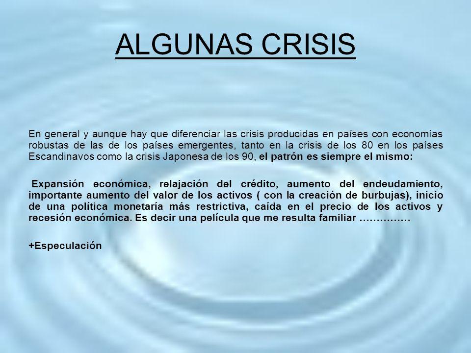 ALGUNAS CRISIS