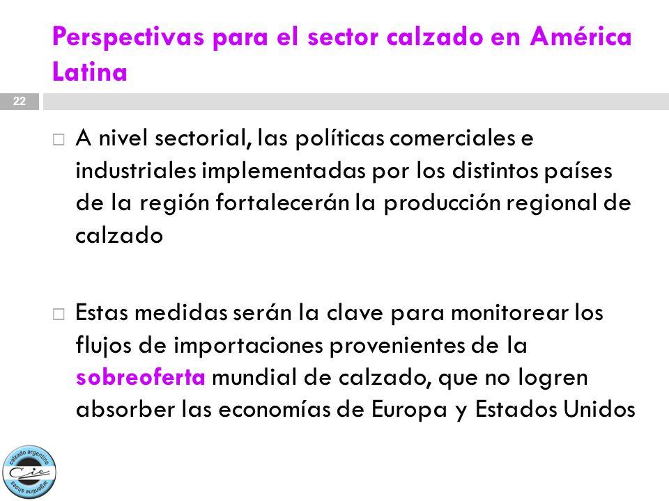 Perspectivas para el sector calzado en América Latina