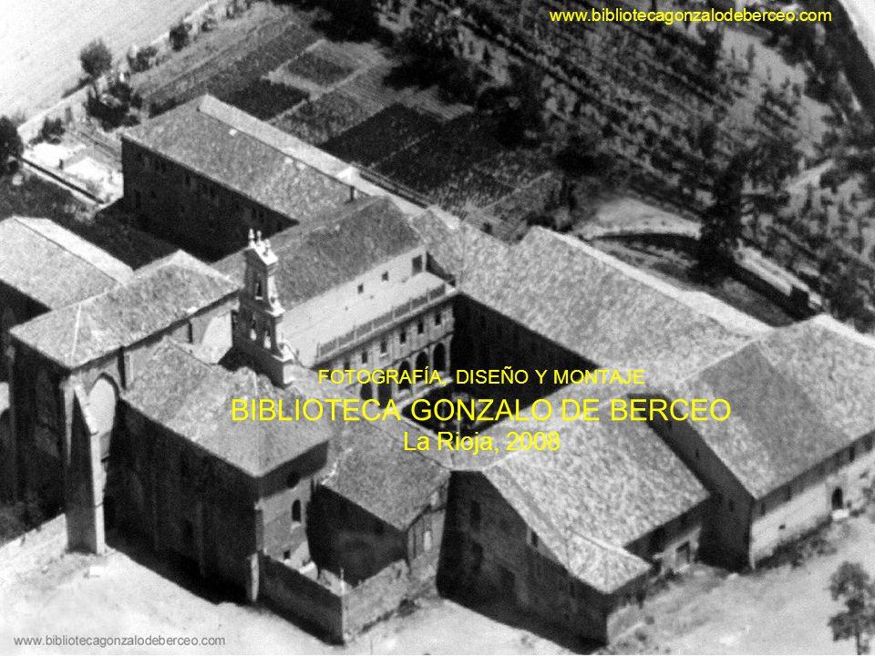 www.bibliotecagonzalodeberceo.com FOTOGRAFÍA, DISEÑO Y MONTAJE BIBLIOTECA GONZALO DE BERCEO La Rioja, 2008.