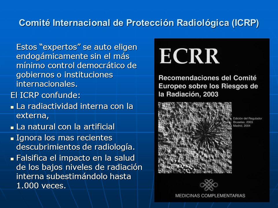 Comité Internacional de Protección Radiológica (ICRP)