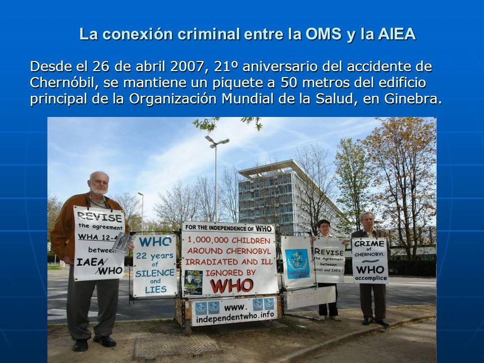 La conexión criminal entre la OMS y la AIEA