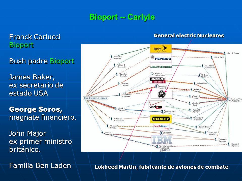 Bioport -- Carlyle Franck Carlucci Bioport Bush padre Bioport