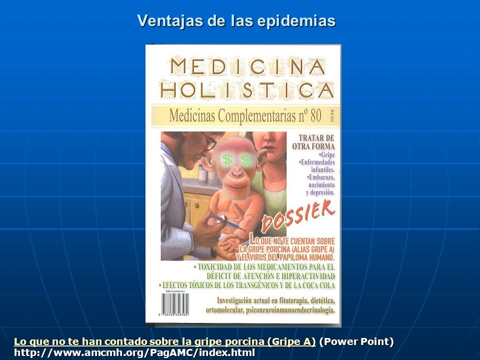 Ventajas de las epidemias