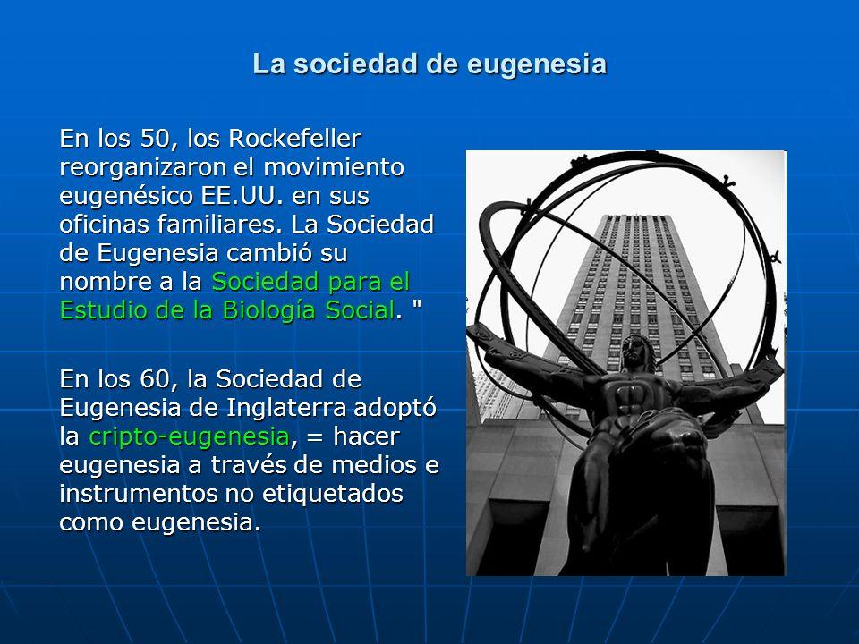 La sociedad de eugenesia
