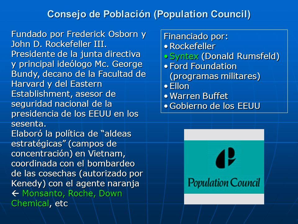 Consejo de Población (Population Council)