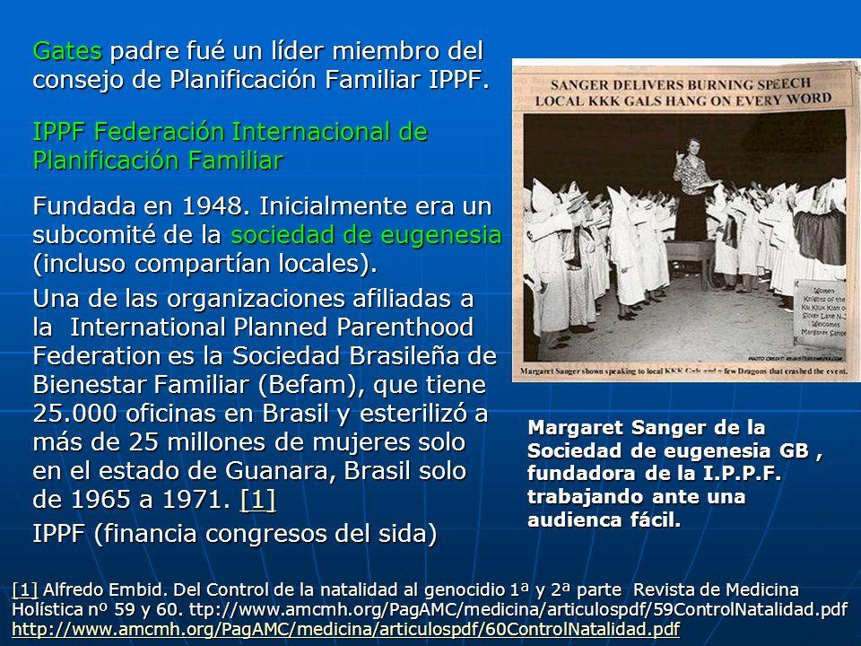 IPPF Federación Internacional de Planificación Familiar