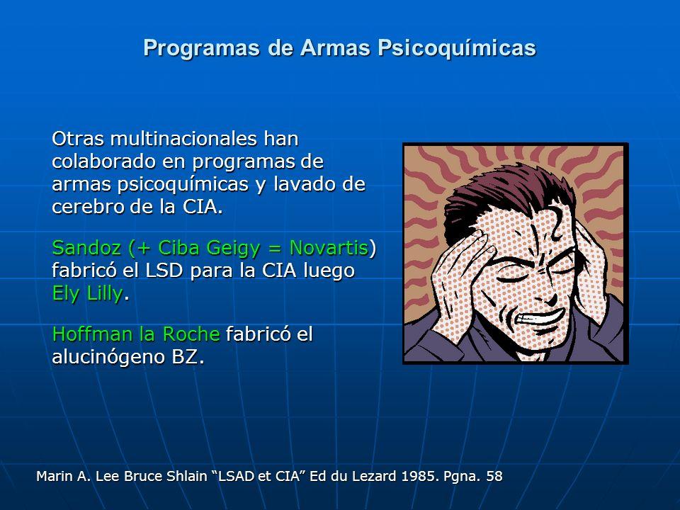 Programas de Armas Psicoquímicas