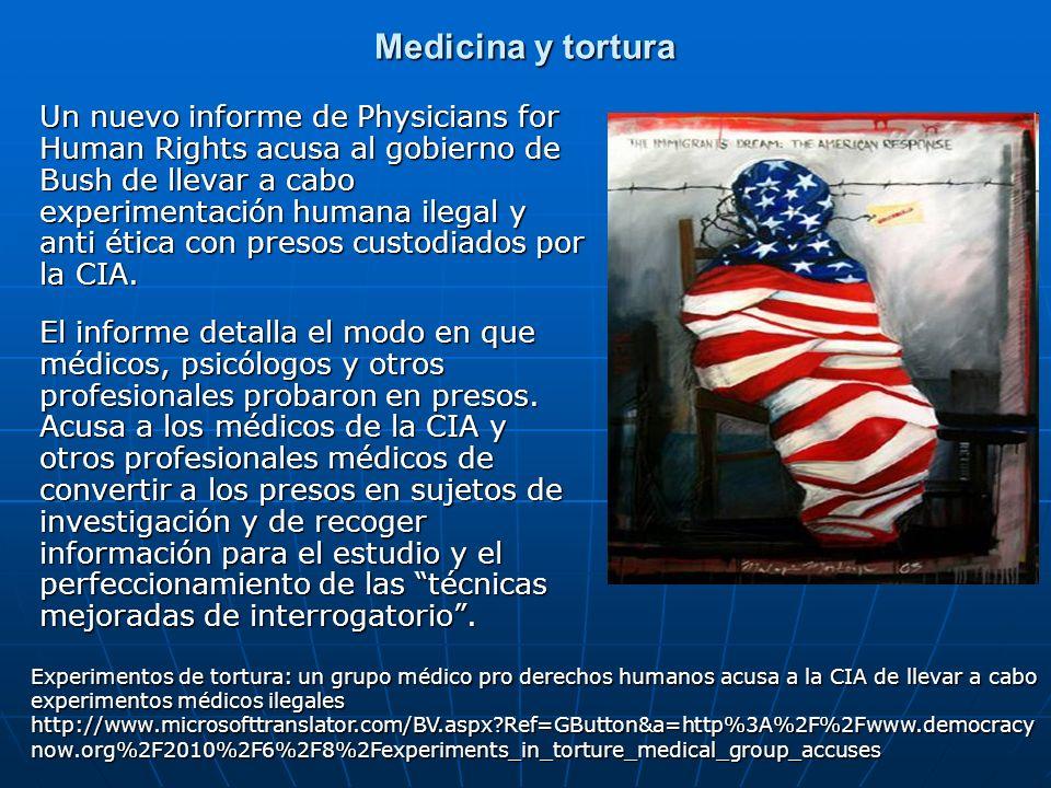 Medicina y tortura