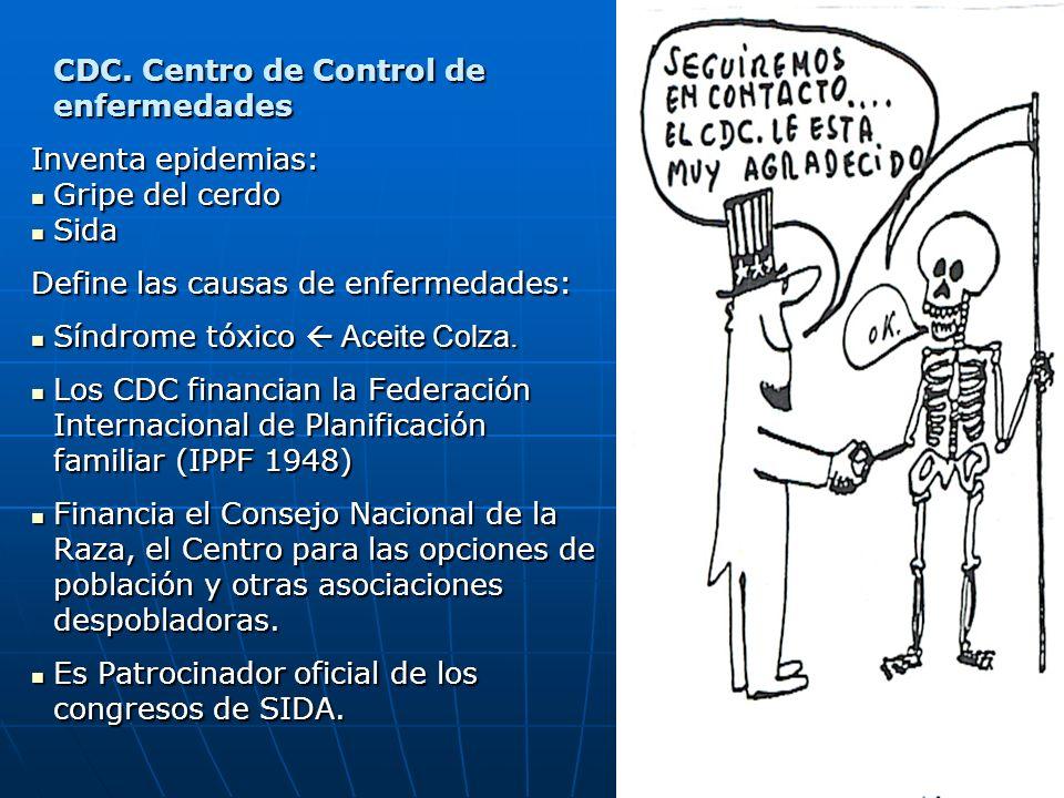 CDC. Centro de Control de enfermedades