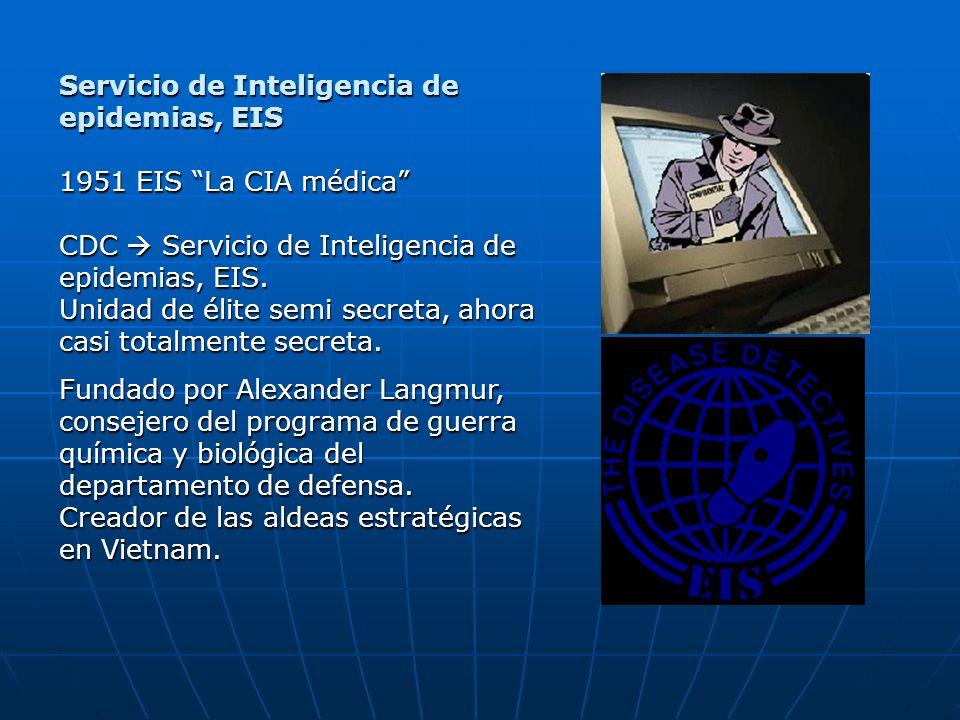 Servicio de Inteligencia de epidemias, EIS