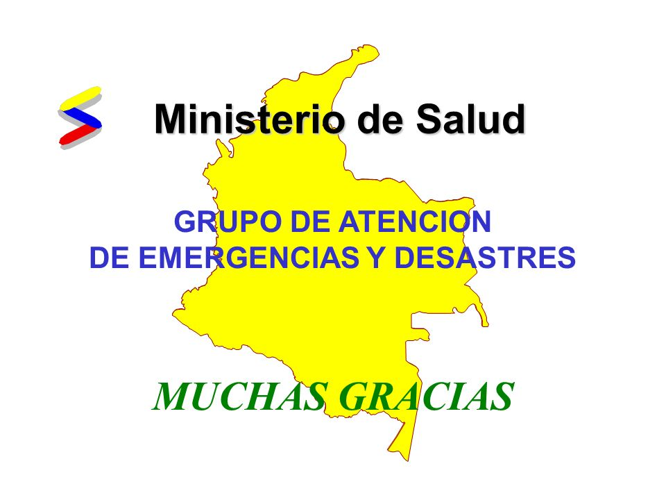 GRUPO DE ATENCION DE EMERGENCIAS Y DESASTRES