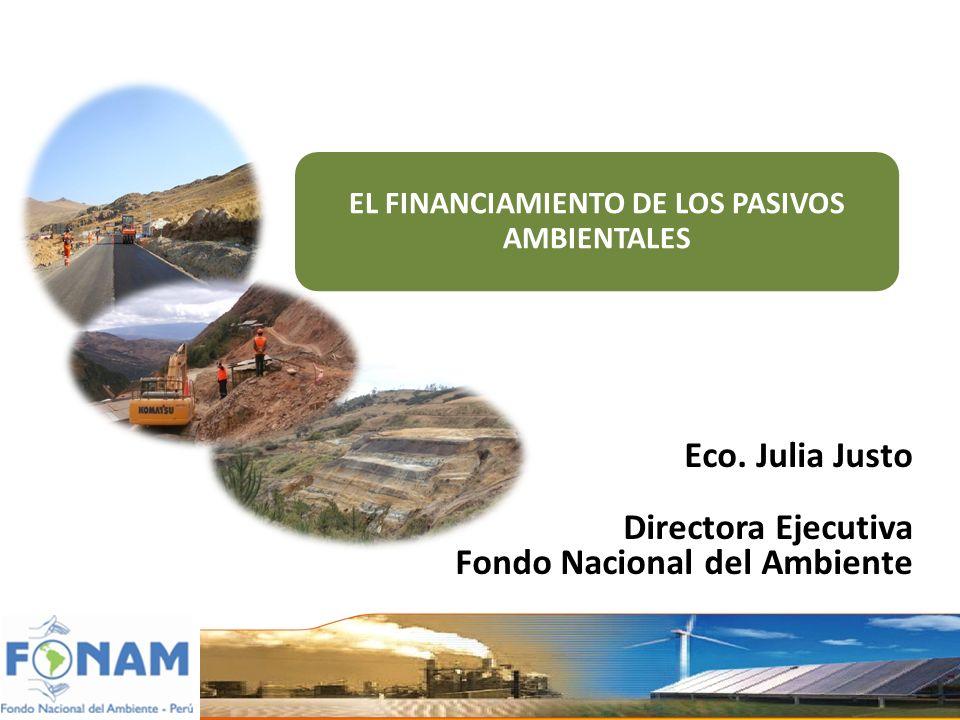 EL FINANCIAMIENTO DE LOS PASIVOS AMBIENTALES