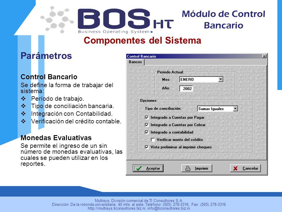 Componentes del Sistema