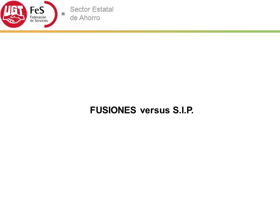 FUSIONES versus S.I.P. 11