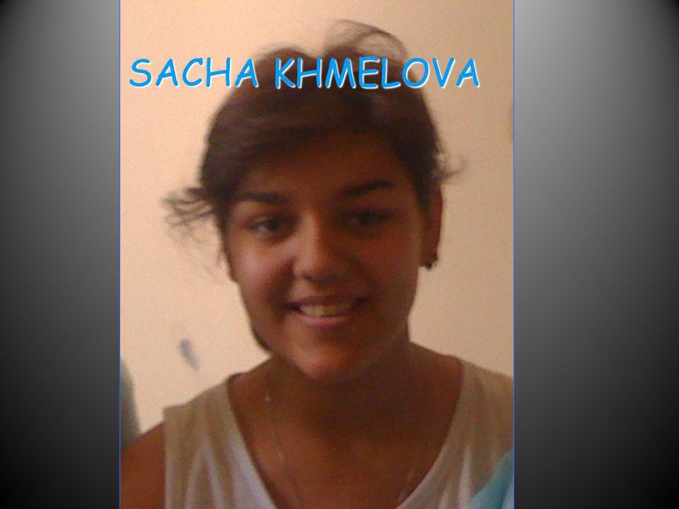 SACHA KHMELOVA
