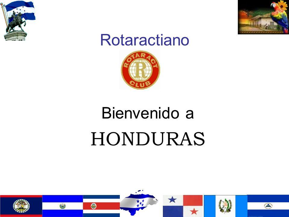 Rotaractiano Bienvenido a HONDURAS