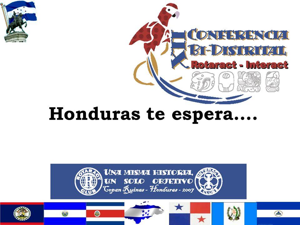 Honduras te espera….