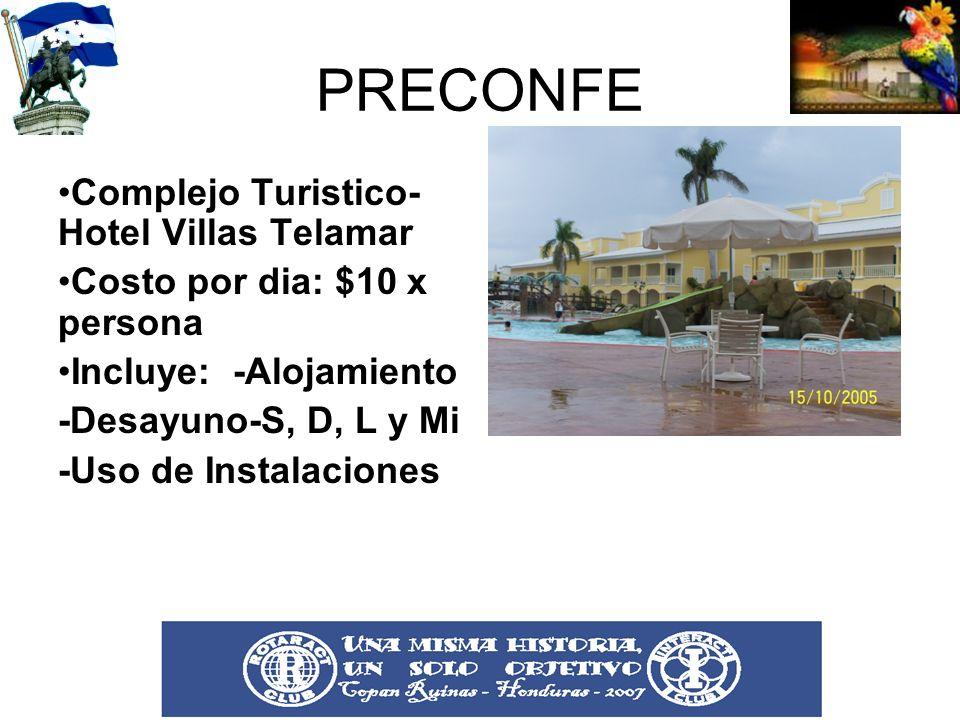 PRECONFE Complejo Turistico-Hotel Villas Telamar