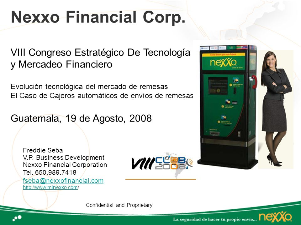 Nexxo Financial Corp. VIII Congreso Estratégico De Tecnología
