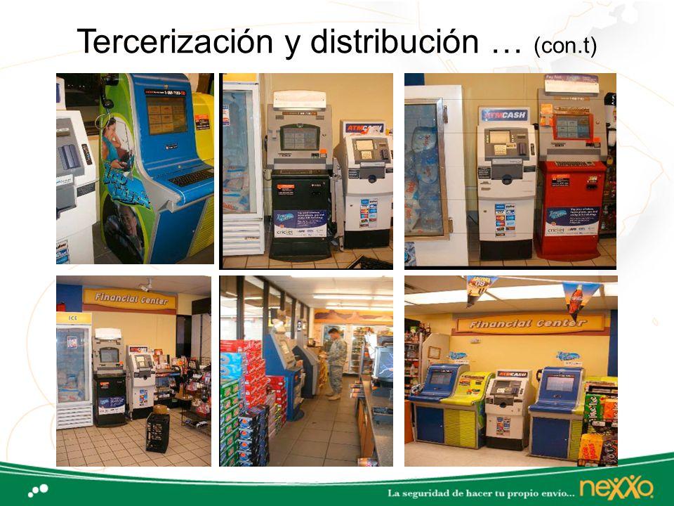 Tercerización y distribución … (con.t)
