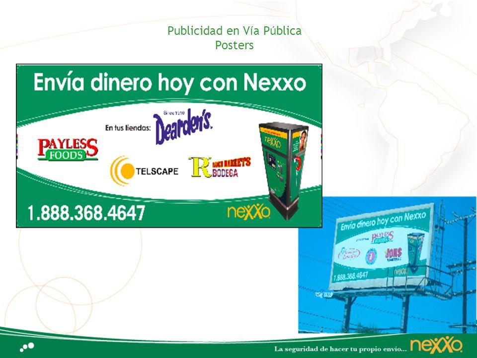 Publicidad en Vía Pública Posters