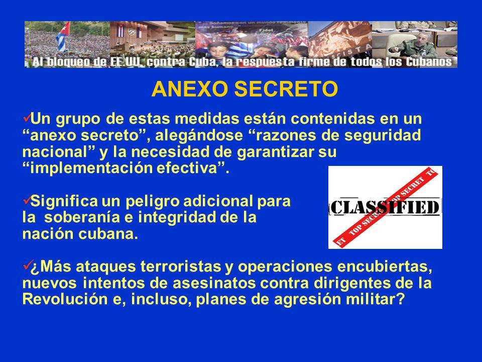 ANEXO SECRETO