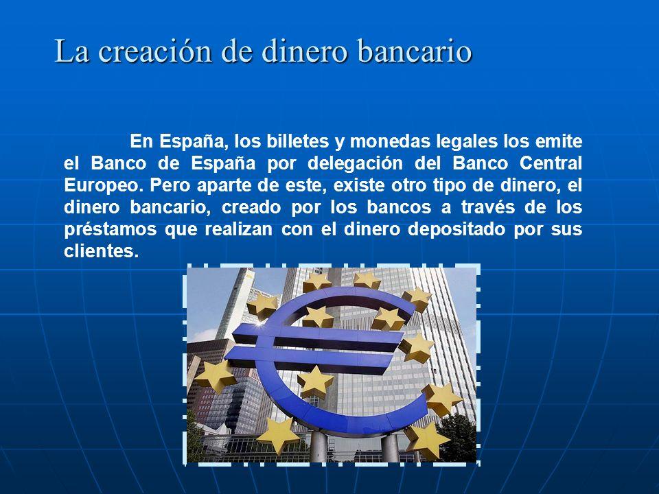 La creación de dinero bancario