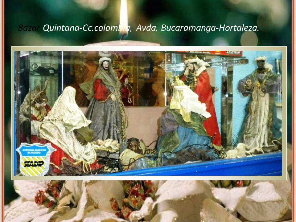 Bazar Quintana-Cc.colombia, Avda. Bucaramanga-Hortaleza.