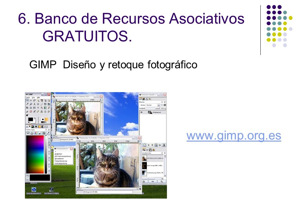 6. Banco de Recursos Asociativos GRATUITOS.