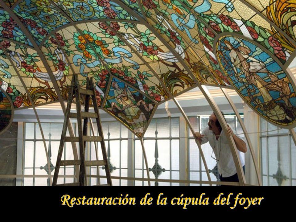 Restauración de la cúpula del foyer