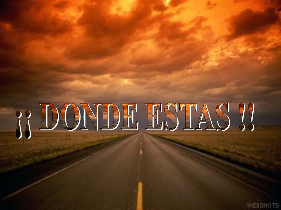 ¡¡ DONDE ESTAS !!