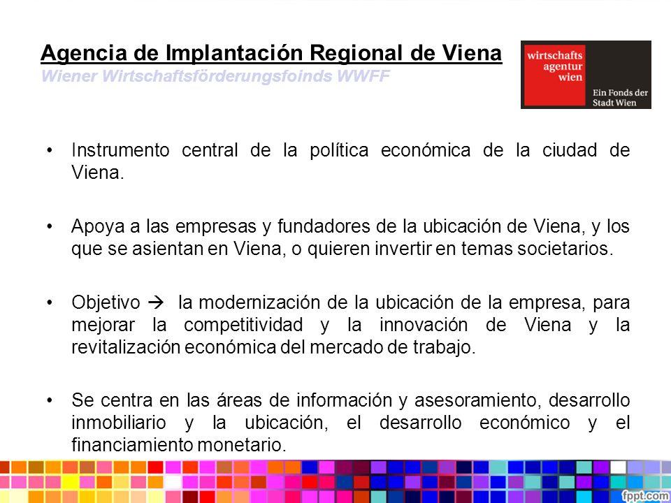 Agencia de Implantación Regional de Viena Wiener Wirtschaftsförderungsfoinds WWFF