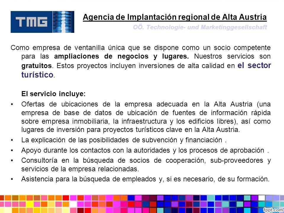 Agencia de Implantación regional de Alta Austria. OÖ