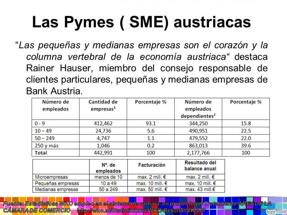 Las Pymes ( SME) austriacas