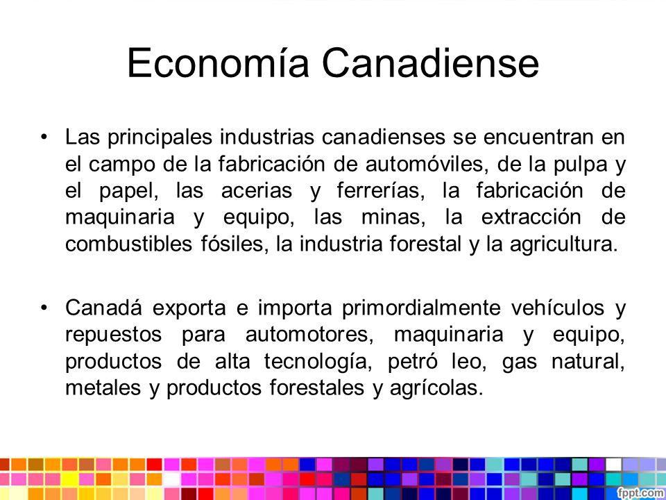 Economía Canadiense