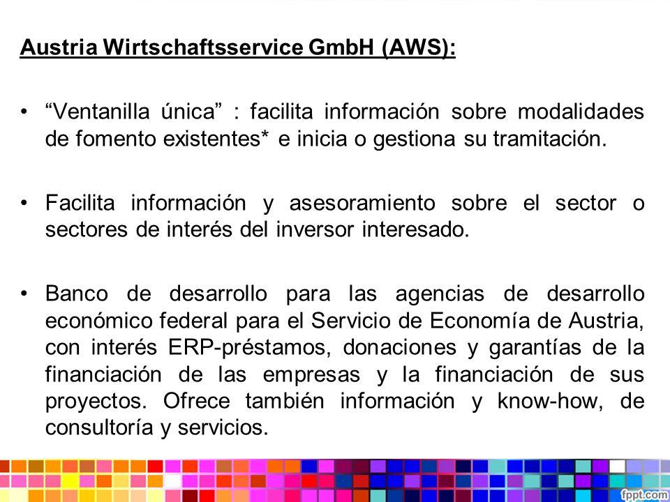 Austria Wirtschaftsservice GmbH (AWS):