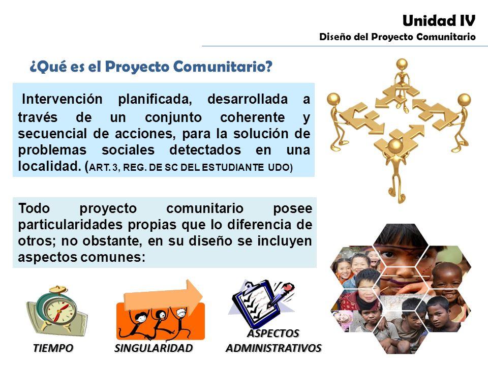 Unidad i seminario de servicio comunitario ppt descargar for Proyecto social comedor comunitario