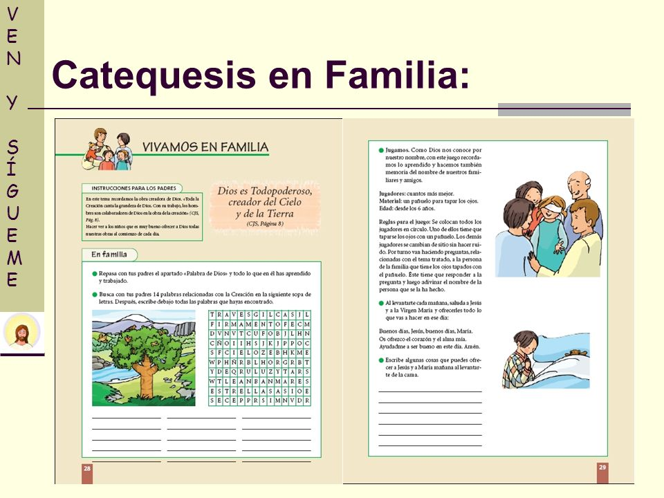 Catequesis en Familia: