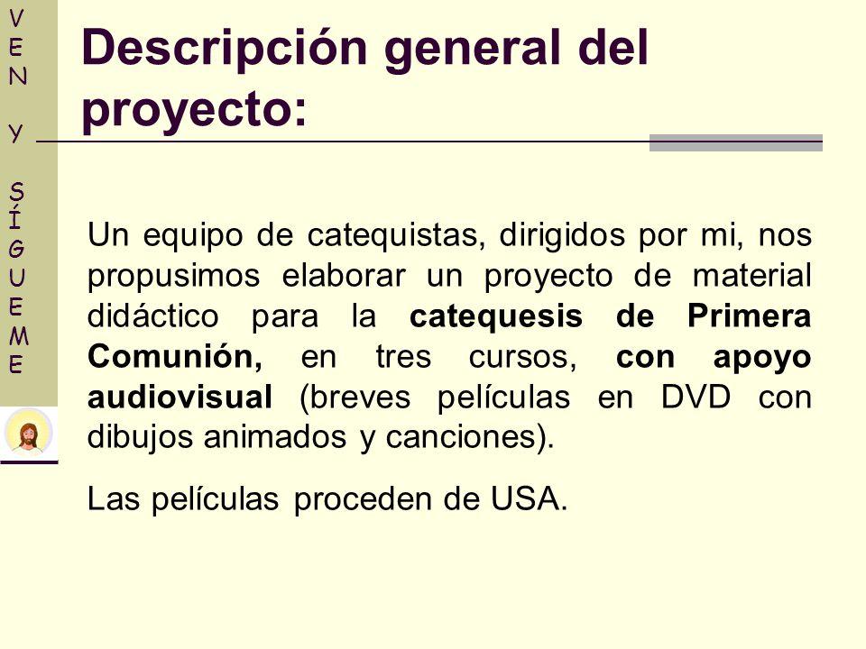 Descripción general del proyecto: